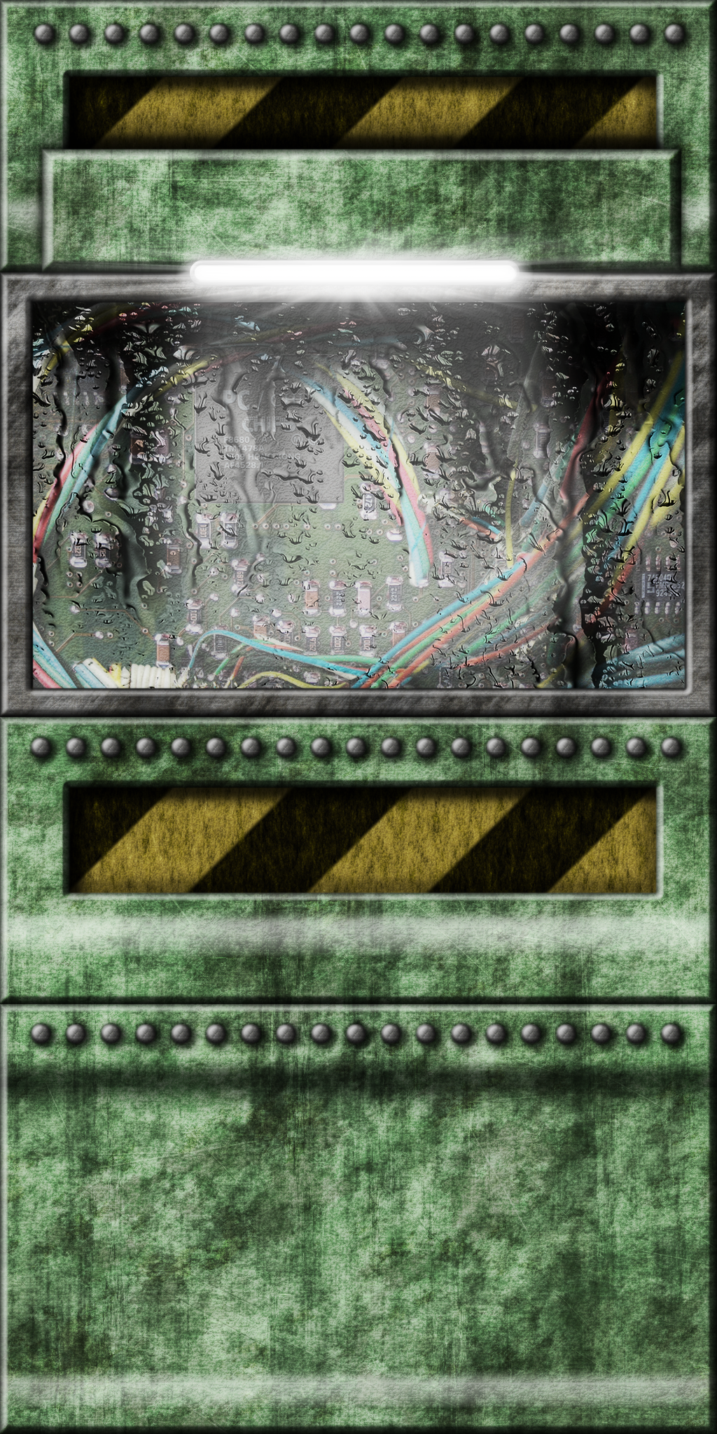 Green TechWall 01 (Remake) by Hoover1979