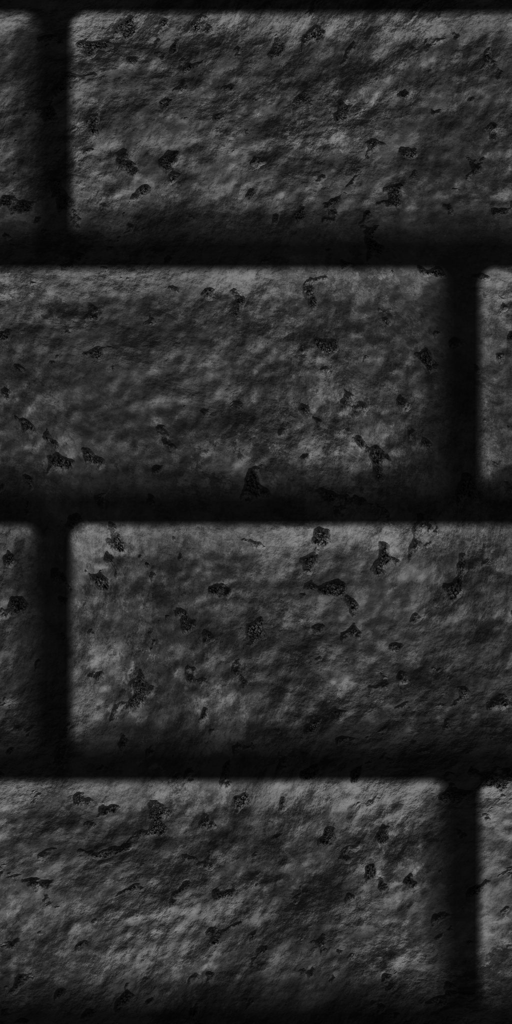 Large Grey Brick Wall by Hoover1979