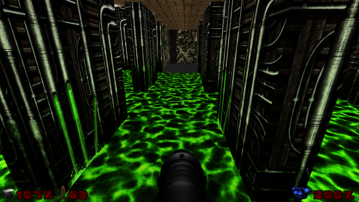 Ingame test - Nukage (E1M3) by Hoover1979