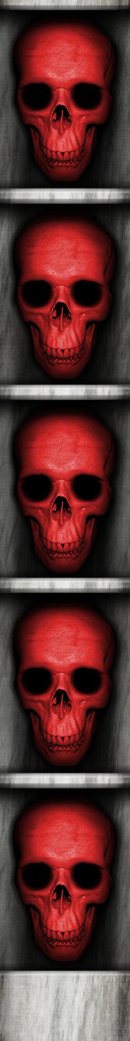 Red Skull Key Door Edge by Hoover1979