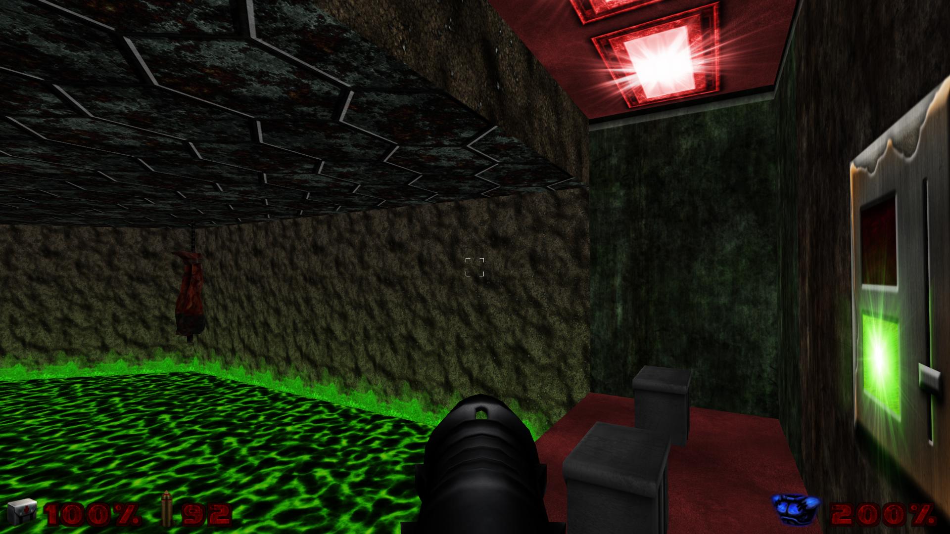 Doom E2M6 Test Shot by Hoover1979