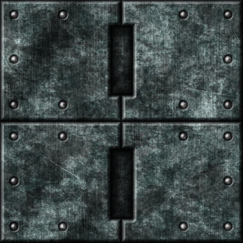 Grey Metal Tiles 01 (Alternate) by Hoover1979