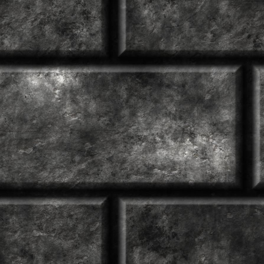 Grey Brick Floor/Ceiling by Hoover1979