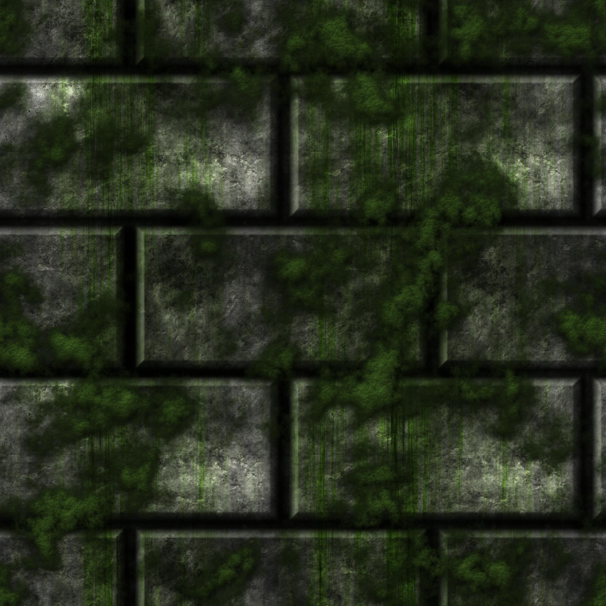 Grey Stone Bricks/Moss remake by Hoover1979