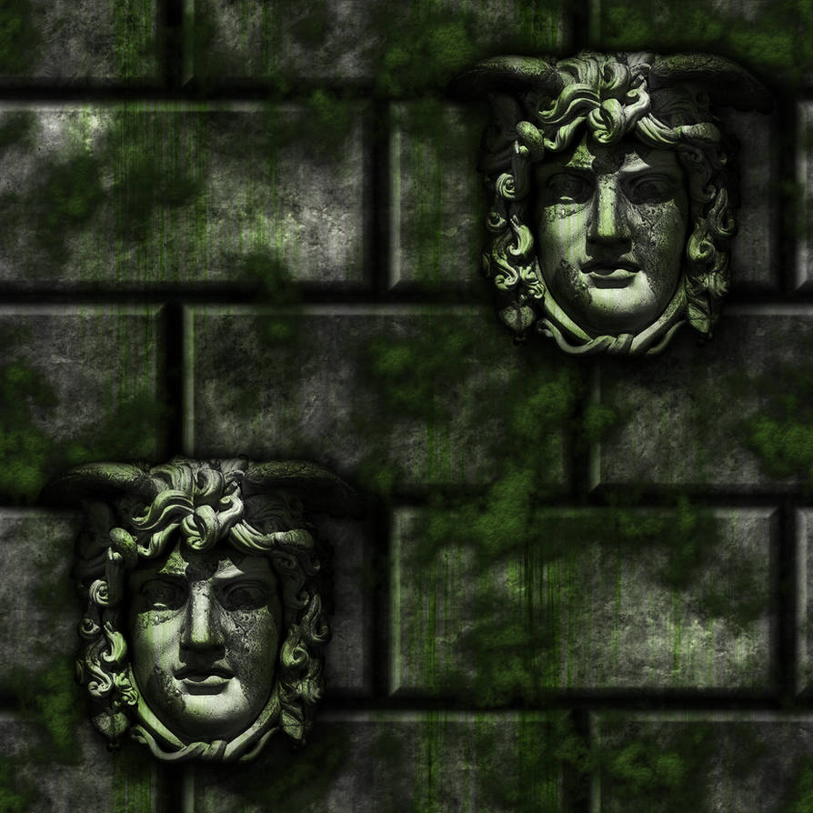 Grey Stone Bricks/Moss Gargoyles remake by Hoover1979