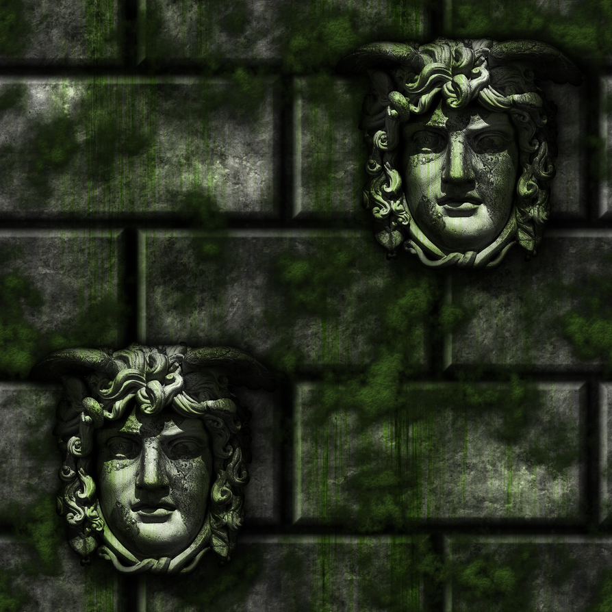 Grey Stone Bricks/Moss Gargoyles remake by Hoover1979