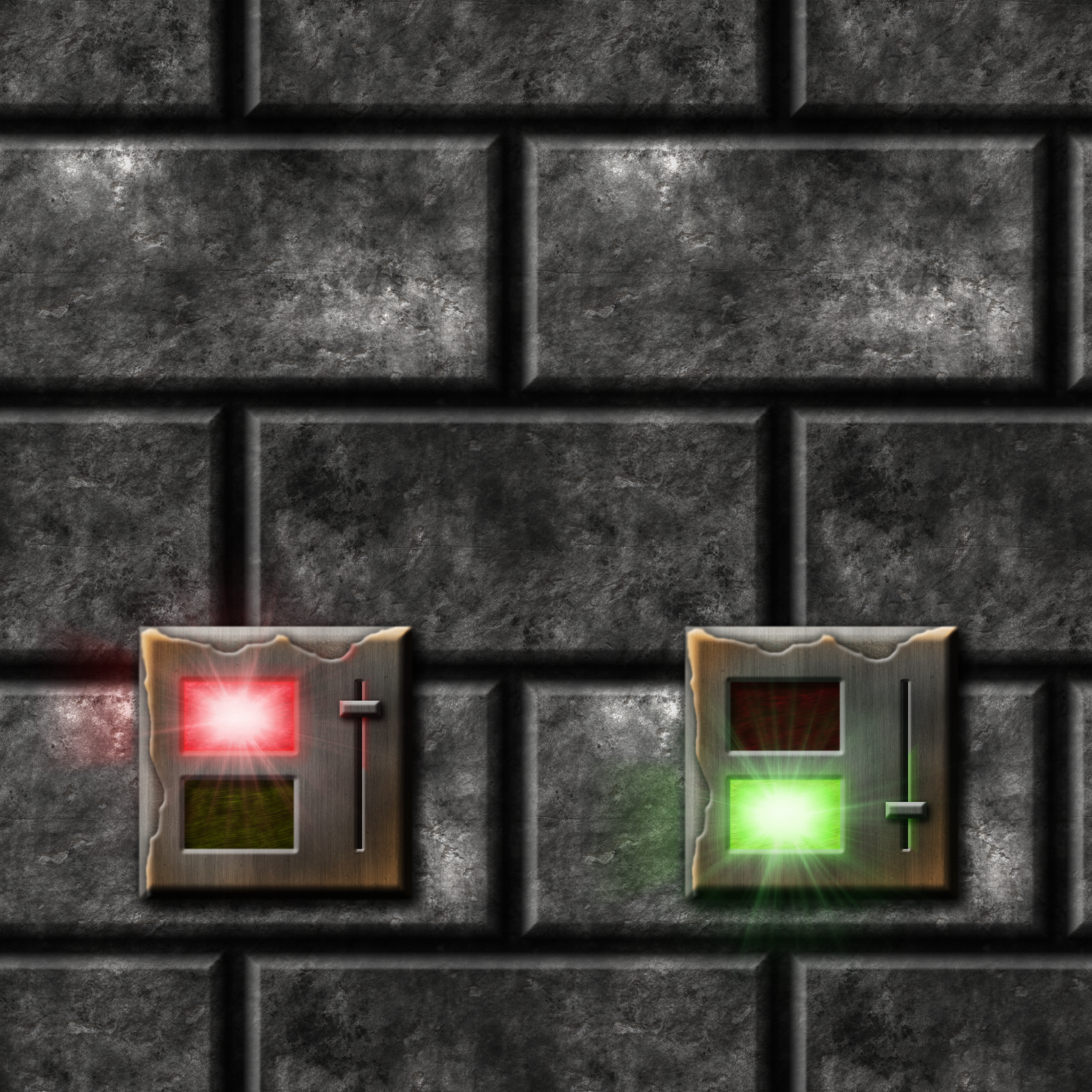 Grey Stone Bricks with Flip Switch remake by Hoover1979