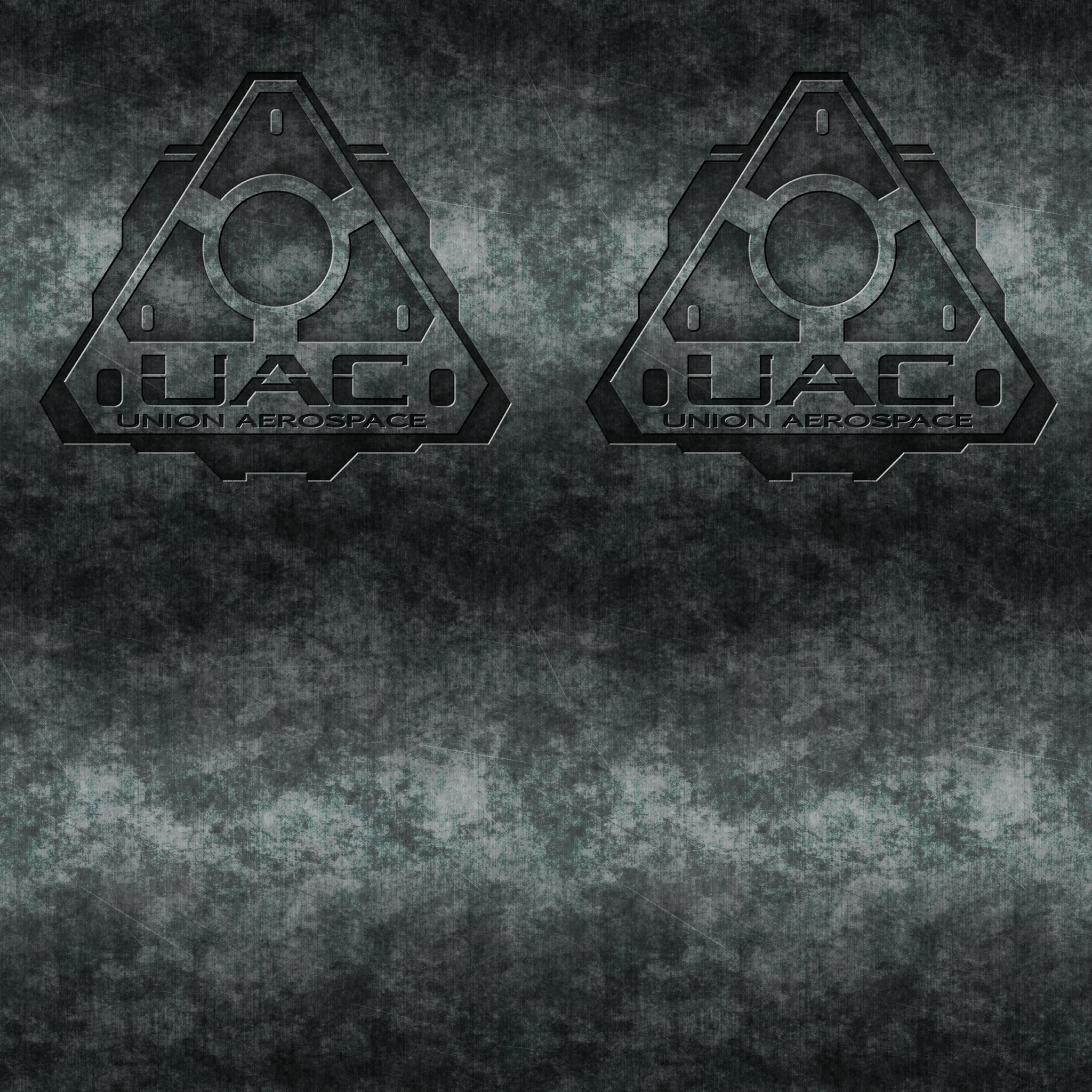 Silver Wall with UAC Logos by Hoover1979