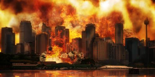 WIP - Doom 2 Sky 2 Background layer