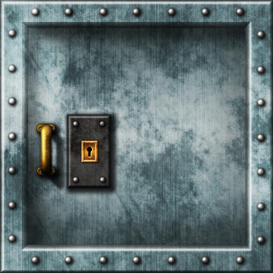 Doom II - Wolfenstein Door 01 by Hoover1979