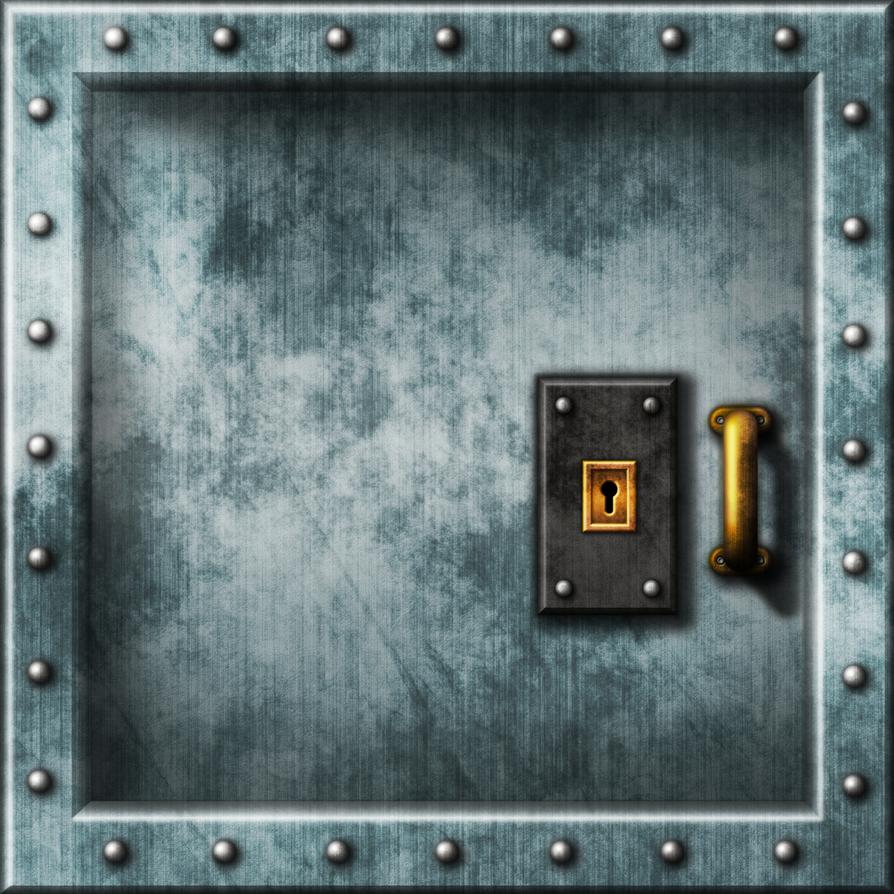 Doom II - Wolfenstein Door 02 by Hoover1979