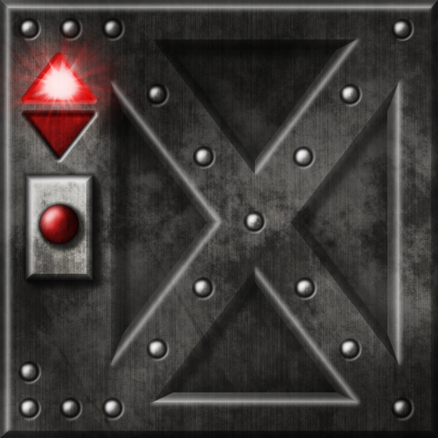 Doom II - Wolfenstein Exit Door by Hoover1979