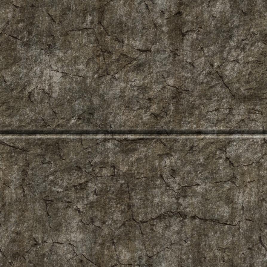 Split Stone Wall 02 by Hoover1979