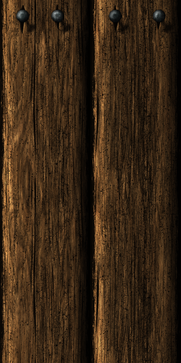 Wooden Wall 13 by Hoover1979