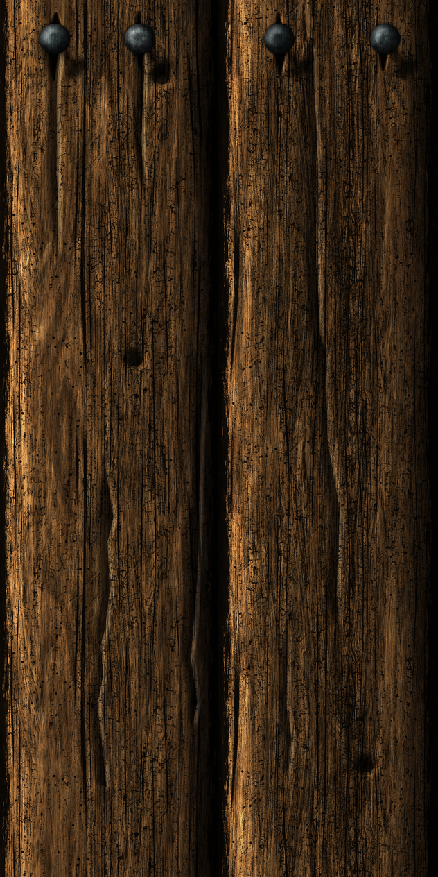 Wooden Wall 14 by Hoover1979