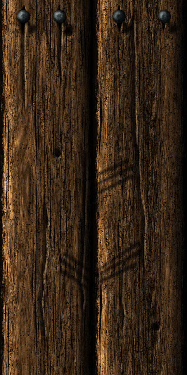 Wooden Wall 15 by Hoover1979