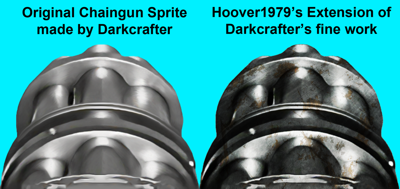 Chaingun resize extension of DarkCrafter's Work by Hoover1979