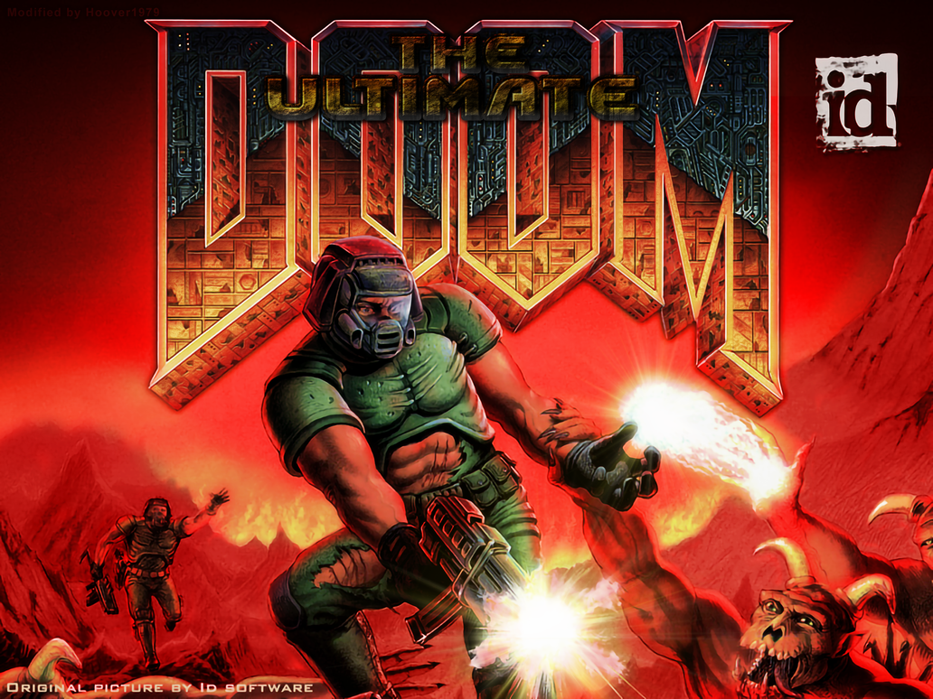 Ultimate Doom Title pic (4K) by Hoover1979