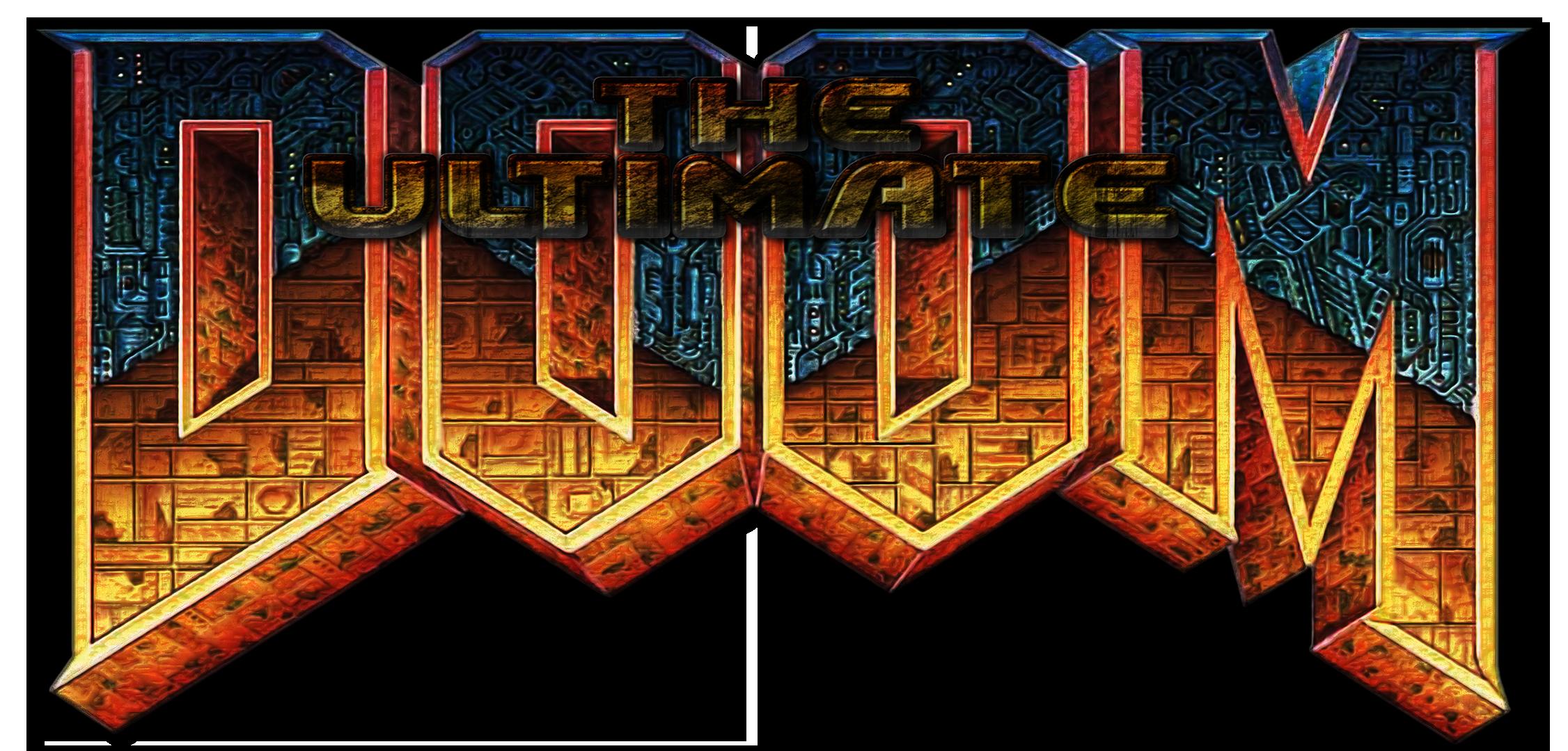 Ultimate Doom Menu Header by Hoover1979