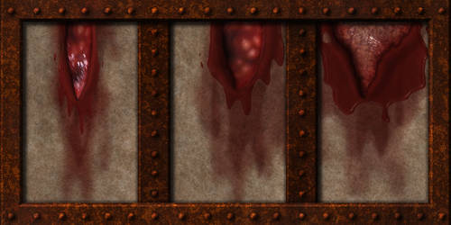 Flesh and Skin Wall 02 by Hoover1979