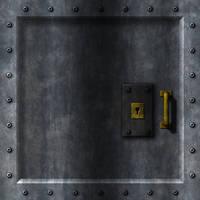 Wolf3D Door (reverse)
