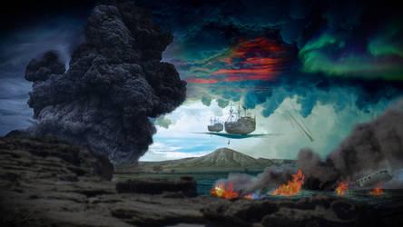Pirate Landscape by AlexJoyce