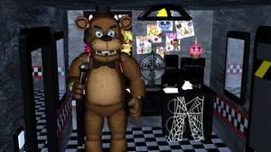 FNaF VR Freddy