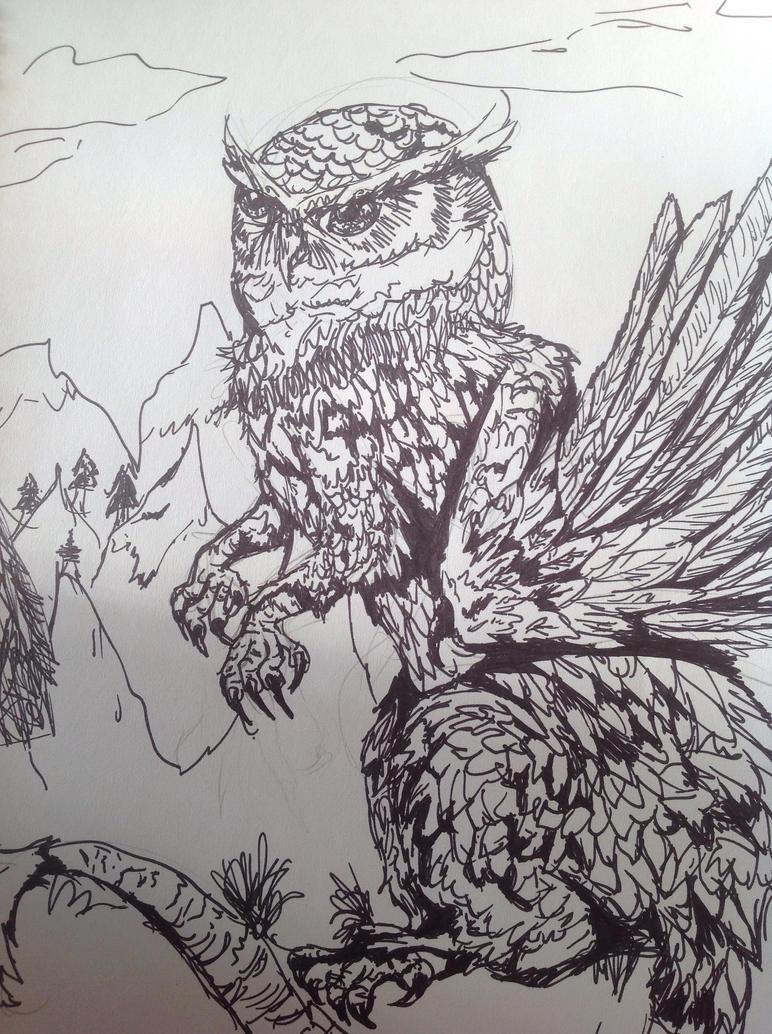 OwlBeast by OwlMew