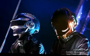Daft Punk 002 by KylieKeene