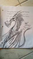 Corporal Levi~Dragon Form Concept Design