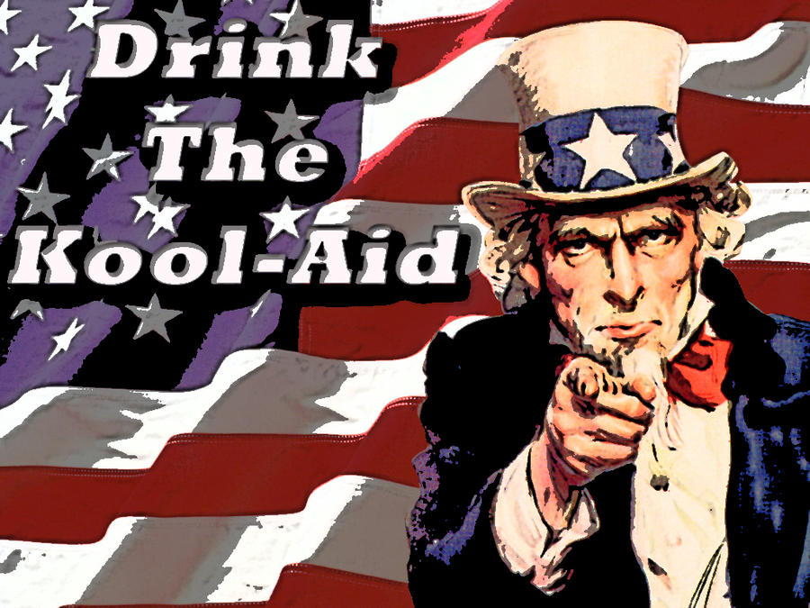 Image result for drink the kool aid