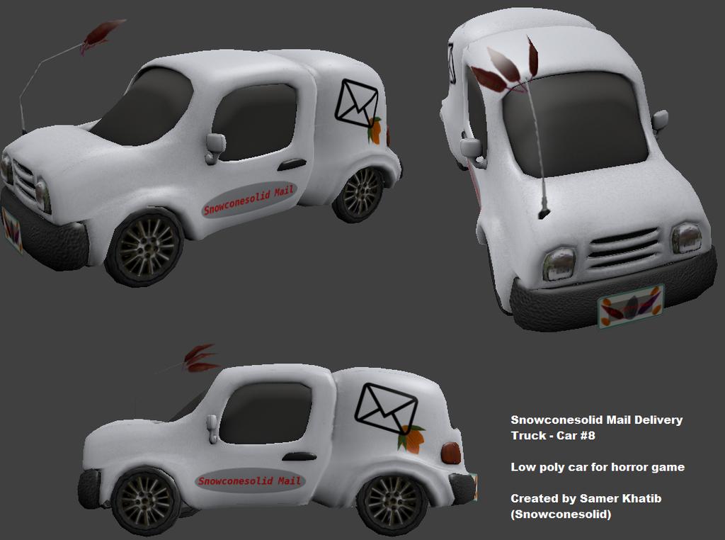 Unity Cone Car Game