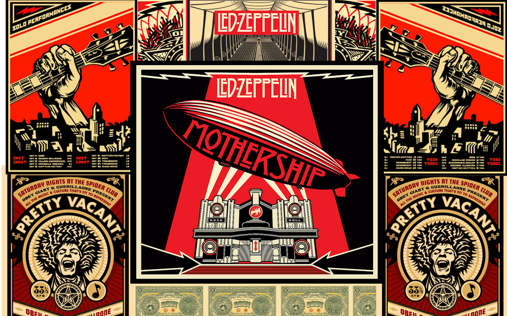led zeppelin mothership by armin09