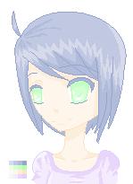 Pale Pixel Girl :3 by Saku-Juice