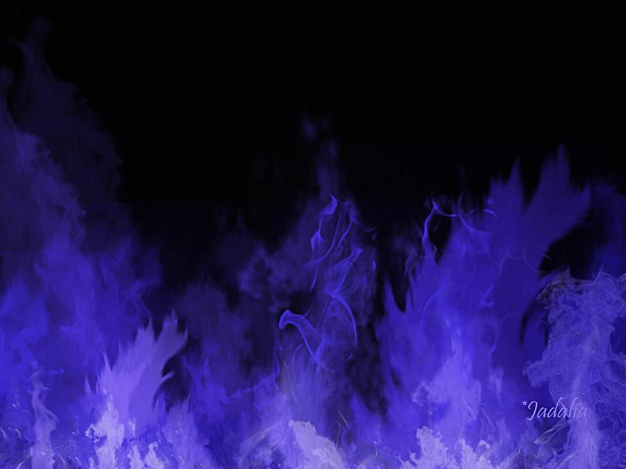 Blue Fire Wallpaper By Jadalia