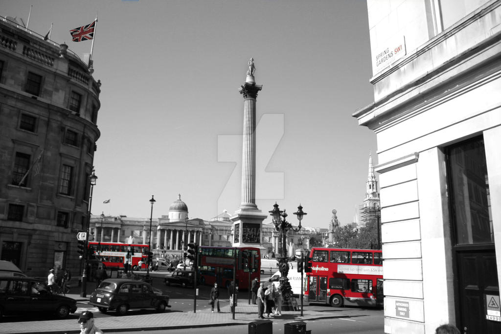London Collection - Trafalger Square by jadalia