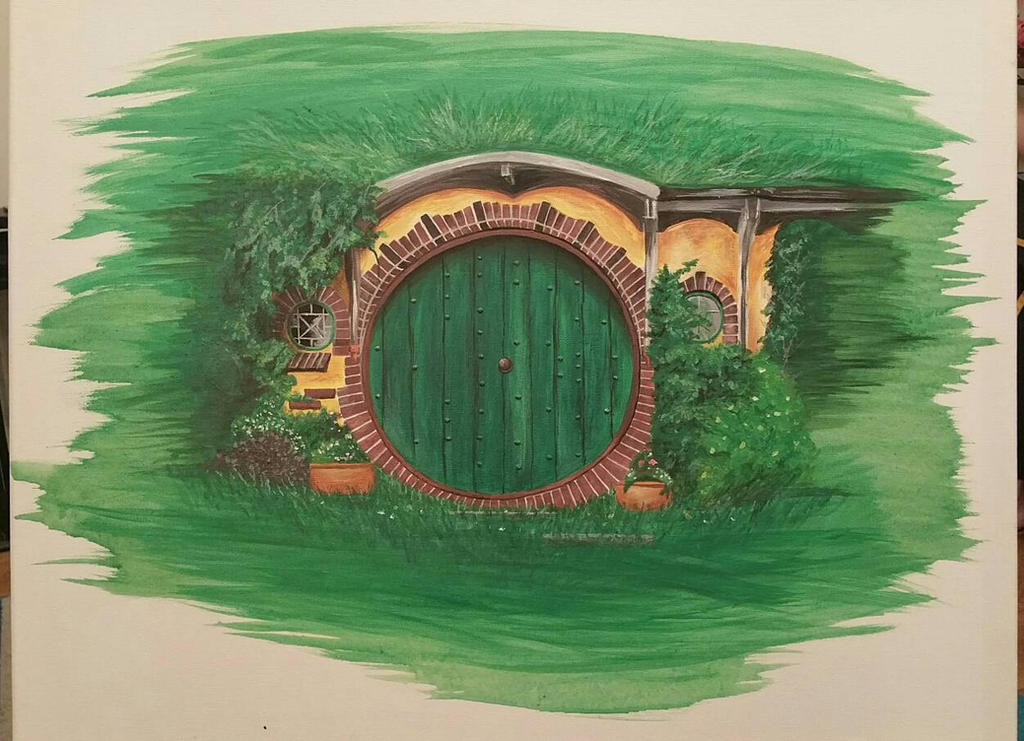 Bag End - The Shire by jadalia