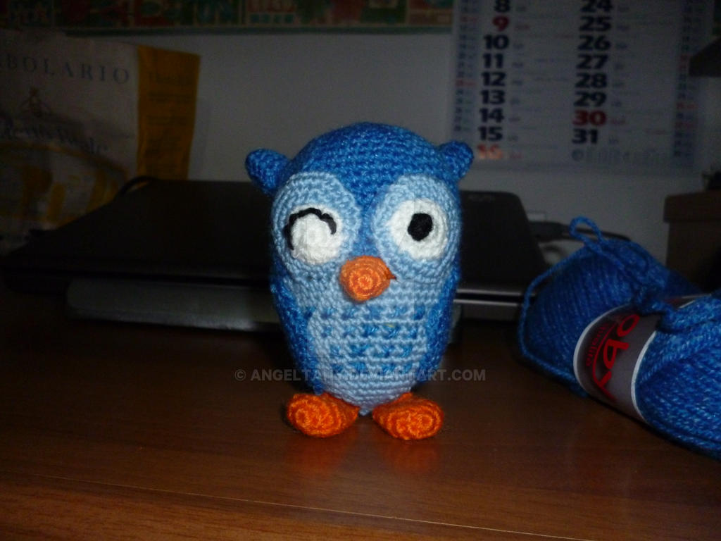 Blue Owl by AngelTany