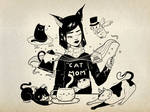 Cat Mom Enoe