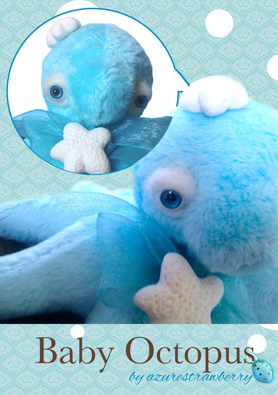 Baby Octopus plush 2 by AzureStrawberry