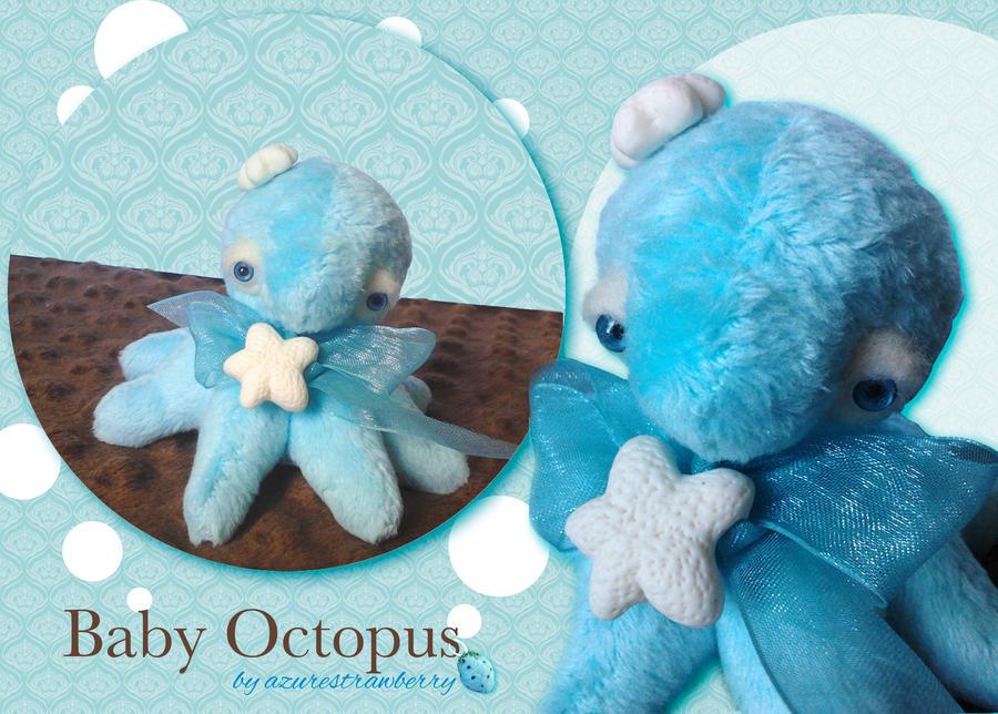 Baby Octopus plush 1 by AzureStrawberry