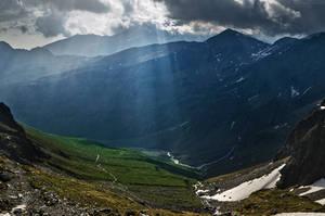 Across The Mountains by MaximeDaviron