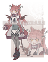 AUCTION ADOPTABLE HALLOWEEN CLOSED by Zomuchan