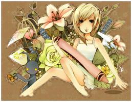 _______namine ++ kh by Starlight-Usagi