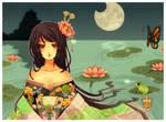 lotus princess for kaldeagirl by Starlight-Usagi
