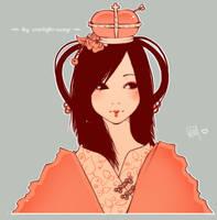 -Like summer peaches- by Starlight-Usagi