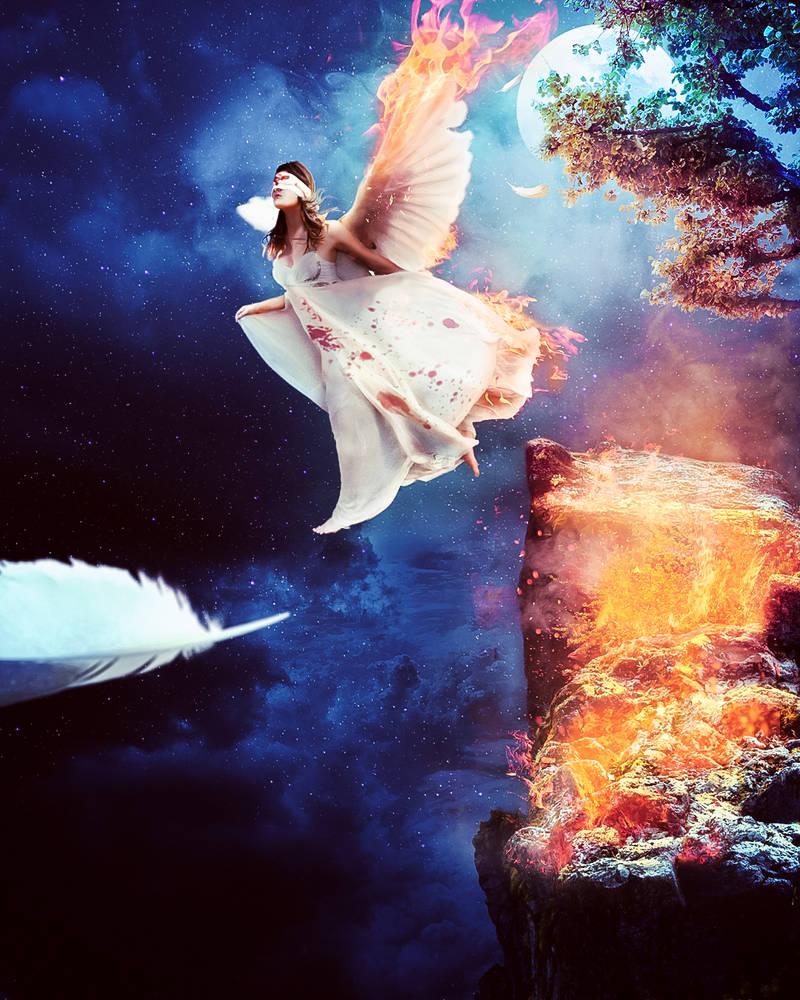 Angel caido | fallen Angel + video