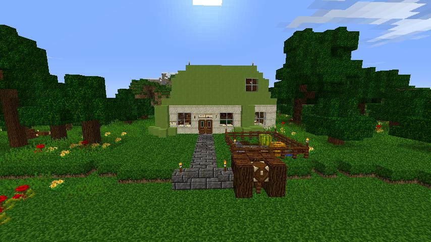 Minecraft Fluttershy's Home by boogiebear96 on DeviantArt