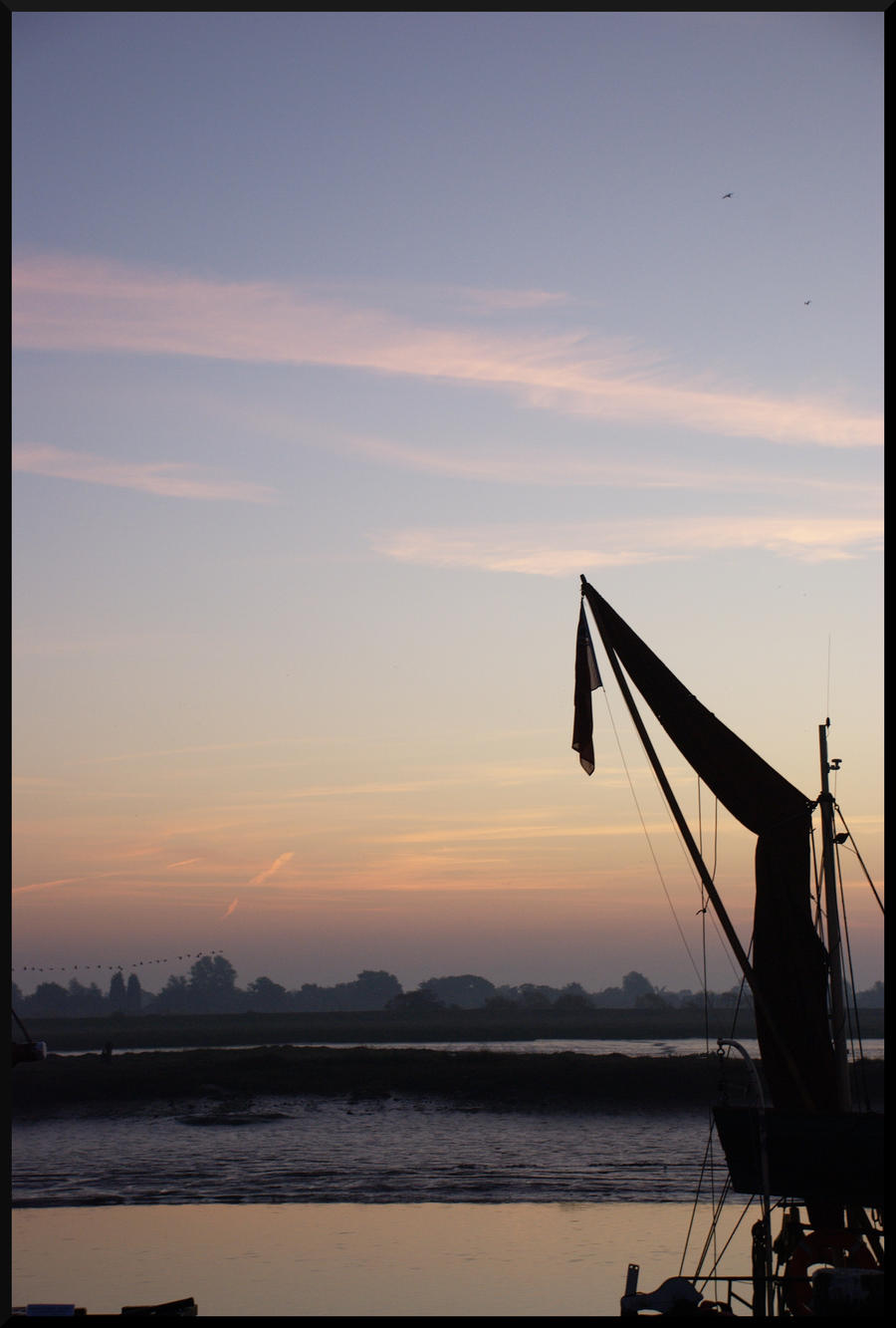 Dawn over the Blackwater I by PlasticusForkus