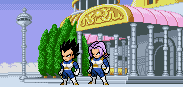 Trunks and Vegeta by Est1994